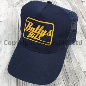 Blue with yellow Logo Truckers Cap