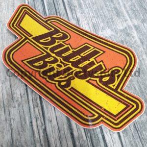 Retro Buttys Bits Sticker