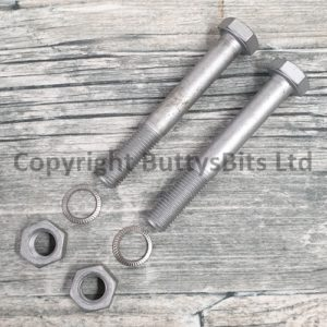 BB-256 912 Engine mount long bolts/nuts and lock washers .