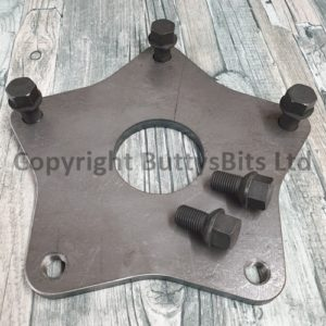 BB-232A Wide 5 Steel wheel Balance machine plate with 5 bolts