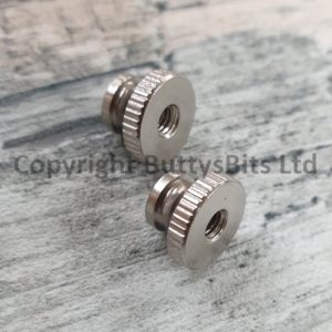 BB-285 2 x Thumb screw nuts for Gauges / Dials