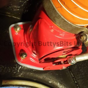 BB-302 Heater box / flap mounting nuts and washers
