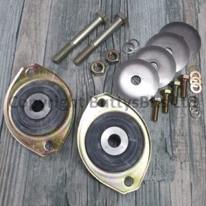 BB-300 Porsche 912 911 Engine mount + bolt kit Stainless Dished washers