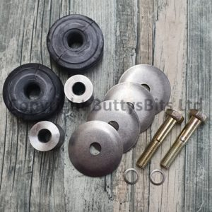 BB-299 Early Porsche 911/912 Gearbox mount kit with Stainless Washers