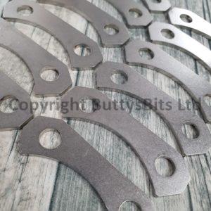 BB-312 911/912 Short wheelbase 8mm Holes CV Joint plates (Stainless Steel)